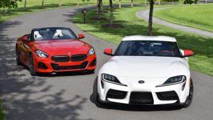 2020 Toyota Supra vs. 2020 BMW Z4 | Similar sports cars, different missions
