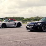 Watch New BMW Z4 Take On Porsche Boxster GTS And Audi TTS In Quarter-Mile Drag Race